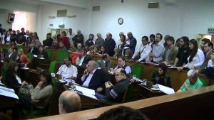 VIDEO: Tribute to the victims of the Armenian Genocide in the Legislative Council of Vicente López