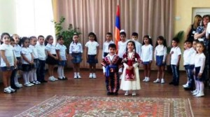 "VIDEO: Opening of art school and kindergarten in Armenia ""Antranig and Anna Arslanian"""