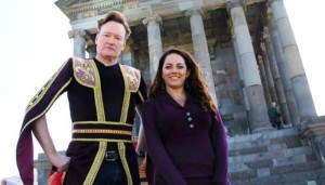 VIDEO: Conan O'Brien in Armenia