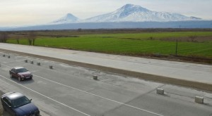 Armenia North-South Road Corridor first section opens