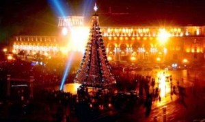Yerevan Republic Square to be venue for New Year concert at night