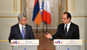 Armenian-French high-level talks in Paris