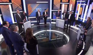11 leaders meet for pre-election debate – Video