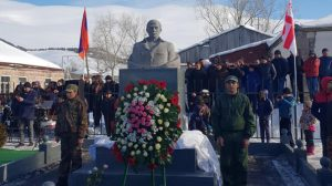 Monument in memory of Artsakh hero sparks frustration in Georgia