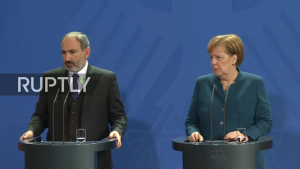 Armenia's Pashinyan, Chancellor Merkel attach specific importance to economic cooperation