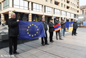 Europe Square unveiled in Yerevan