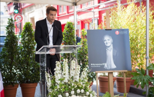 Charles Aznavour memorial plaque unveiled in Paris