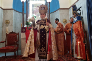 Holy Mass at 350-year-old Armenian church of Crete