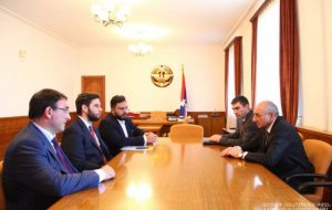 Eurnekian Group discussing implementation of projects in Artsakh