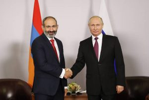Pashinyan-Putin meeting kicks off in St. Petersburg
