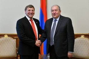 Armenia home to Diaspora compatriots – President