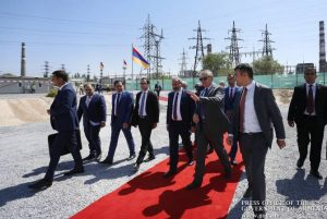 Construction of new power station launched in Yerevan