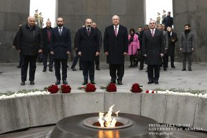 Armenia honors genocide victims on International Day of Prevention of this Crime