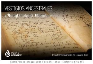 """RECOMENDADO: Exposição fotográfica """"Vestigios Ancestrais"""" de Analia Perona"""