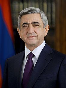 Dia Internacional da Mulher: mensagem do presidente Serge Sarkisian