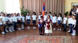 VIDEO: Inauguracion de escuela de arte y jardín de infantes en Armenia «Antranig y Anna Arslanian»