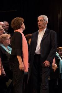 Con un acto en la Sala Siranush, se presentó la nueva página del Coro Gomidás