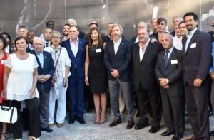 La colectividad armenia presente en el acto por el aniversario de la Dirección Nacional de Migraciones con el ministro Frigerio