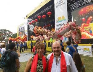 Con presencia armenia, se celebró el Año Nuevo Chino en Buenos Aires