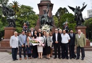 Ester Mkrtumyan, flamante embajadora de Armenia, presentó sus cartas credenciales ante el presidente Macri