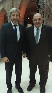 El Presidente de Italia agasajado por Mauricio Macri