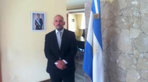 """(Español) Gonzalo Urriolabeitia, embajador de Argentina en Armenia: """"La comunidad armenia de Argentina es un órgano vital que contribuye muchísimo a la relación bilateral"""""""