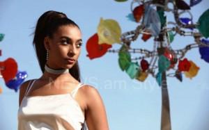 La cantante Sona Nalbandyan cautiva por su talento y su belleza, exquisita combinación de raíces armenias y afroamericanas