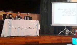 Se realizaron jornadas sobre Genocidio Armenio y Shoá en Concordia