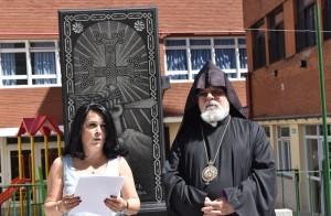 Palabras de la embajadora de Armenia, Ester Mkrtumyan, en el acto por el 30° aniversario del Movimiento de Liberación de Artsaj