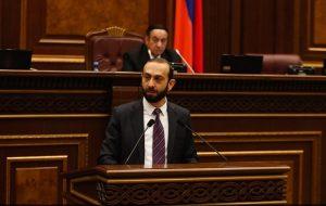(Español) Ararat Mirzoyan elegido nuevo portavoz del parlamento armenio
