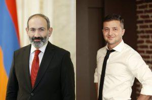 Nikol Pashinyan extends congratulations to Volodymyr Zelensky on landslide victory in Ukraine's presidential poll