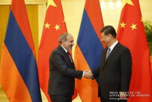 Pashinyan, Xi Jinping meet in Beijing