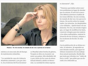 El miedo, entre los escritores turcos (nota del diario «Clarín»)