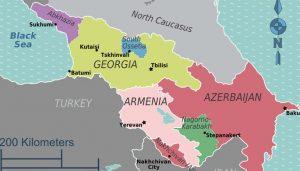 Independencia y conflictos étnicos en el Cáucaso y su desarrollo post caída de la Unión Soviética